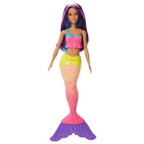 Lalka syrenka z krainy tęczy fioletowa marki Barbie