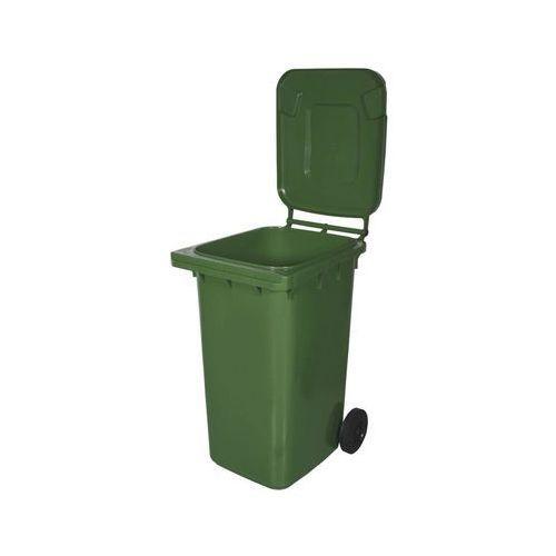 Rim kowalczyk Kosz na śmieci 240 l zielony na odpady szklane