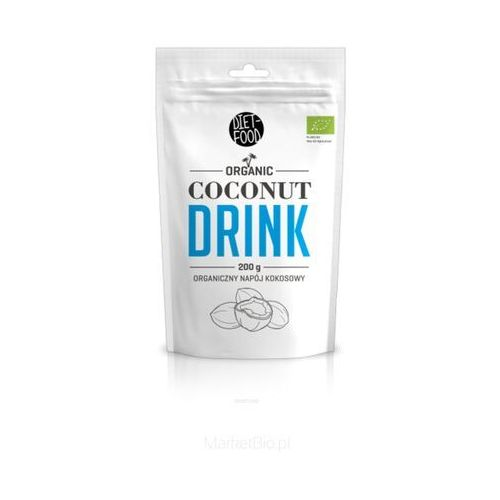 Diet-food Super cocomilk - mleko kokosowe w proszku bio 200g (5901549275902)