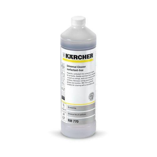 Karcher Rm 770 (1 litr, 1:20) - silny środek w koncentracie do wykładzin tekstylnych ( 6.295-489.0), polska dystrybucja! (4039784410909)