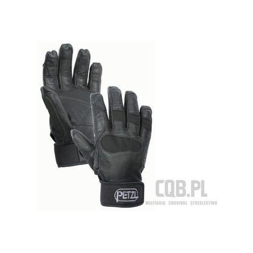 Rękawice Petzl do asekuracji i zjazdu Cordex Plus Czarne