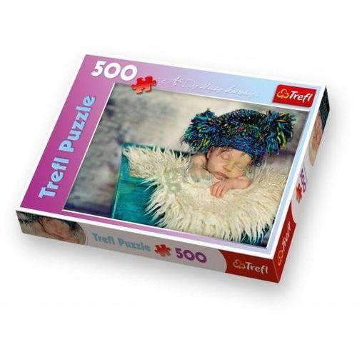 Puzzle 500 Popołudniowa drzemka w futerku TREFL, AM_5900511371413