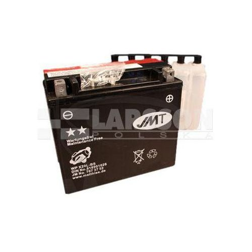 Akumulator bezobsługowy jmt ytx20l-bs (wpx20l-bs) 1100222 harley davidson flstfb marki Jm technics