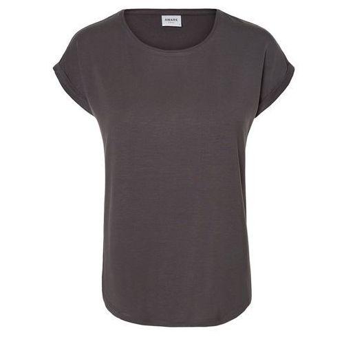 Vero moda koszulka 'ava plain' jasnoszary