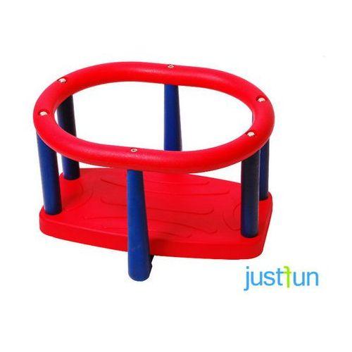 Just fun Huśtawka kubełkowa lux - czerwono-niebieski