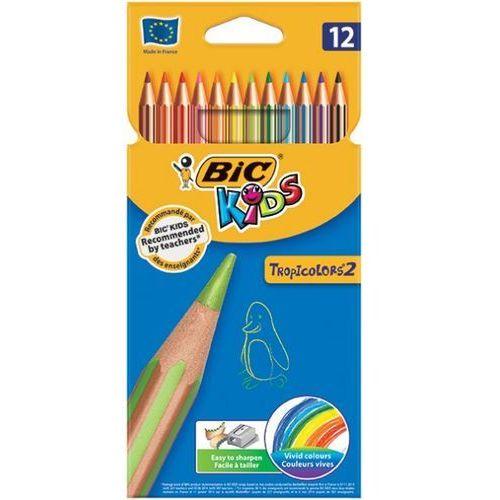 Bic Kredki ołówkowe tropicolors® 2, 12 kolorów - autoryzowana dystrybucja - szybka dostawa