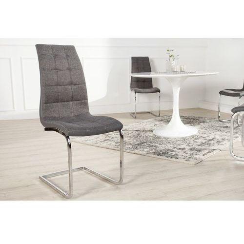 Krzesło Porto - szare, kolor szary
