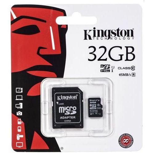 Karta pamięci microSDHC 32gb Kingston