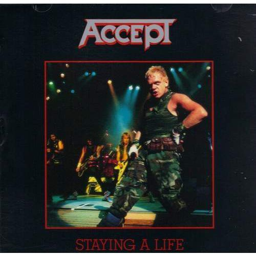 Accept - staying a life marki Sony music entertainment / rca