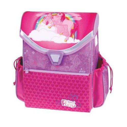 Tornister szkolny różowy sweet pony marki Patio