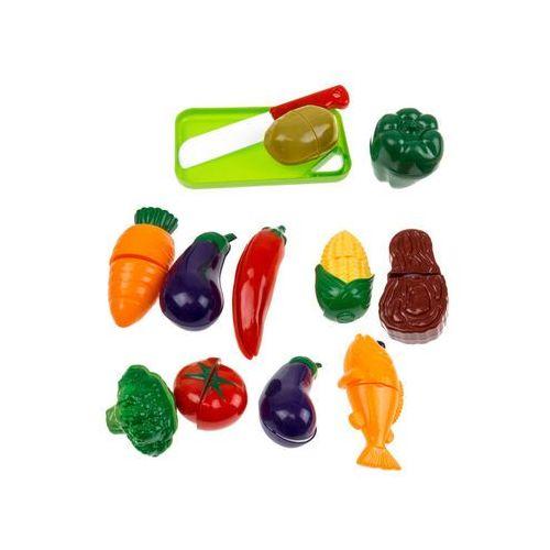 Kolorowy koszyk zakupowy z warzywami do krojenia 666-25 marki Kindersafe