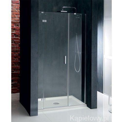 Vitra line drzwi prysznicowe z 2 ściankami 160x200cm lewe bn4315l marki Polysan