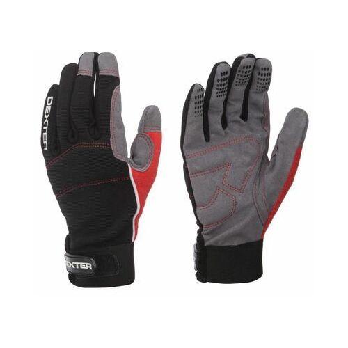 Rękawice robocze ze skóry syntetycznej r. 7 DEXTER ADDXMOTOR (3276009965078)