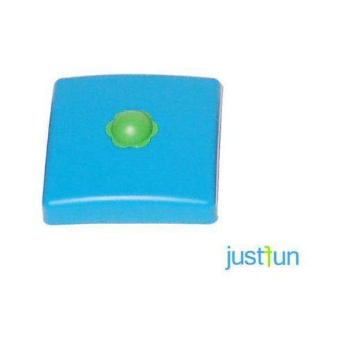 Just fun Plastikowa nasadka na belkę kwadratową 100x100 mm - niebieski