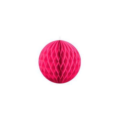 Dekoracja wisząca kula ciemnoróżowa - 10 cm - 1 szt. marki Party deco