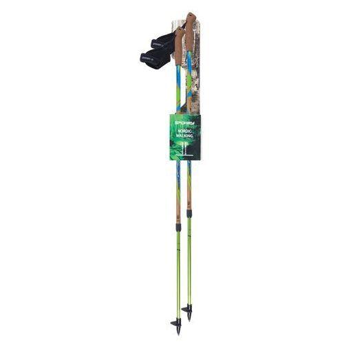 Kije nordic walking regulowane  woody 105 - 140 cm marki Spokey
