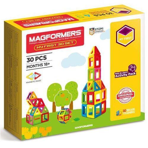 Magformers zestaw kreatywny Mój pierwszy Magformers 30 (8809134367506)