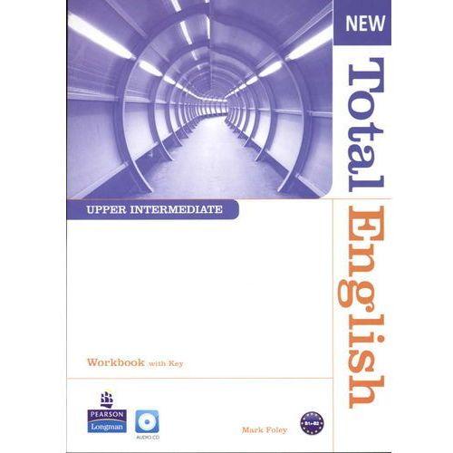 New Total English Upper-Intermediate Workbook With Cd, pozycja wydana w roku: 2011