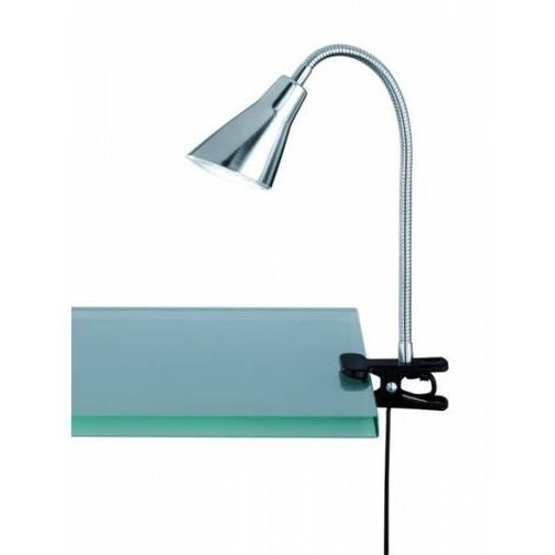5283 lampa stołowa led nikiel matowy, 1-punktowy - nowoczesny/dworek - obszar wewnętrzny - preto - czas dostawy: od 3-6 dni roboczych marki Trio