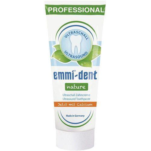 Emmi-dent nature calcium - pasta bez fluoru i parabenu do szczoteczek ultradźwiękowych dalikatna pasta oparta wyłącznie na naturalnych składnikach marki Emag