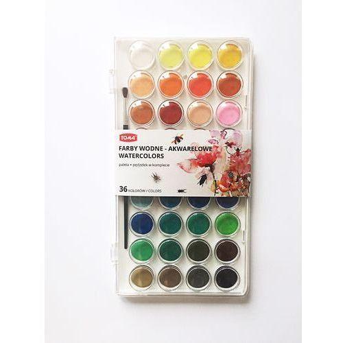 Farbki wodne paletka 16 kolorów marki Toma