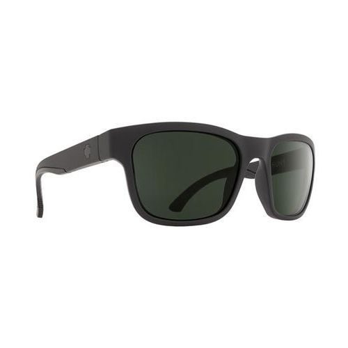 Spy Okulary słoneczne hunt polarized hunt matte black - happy glass gray polar