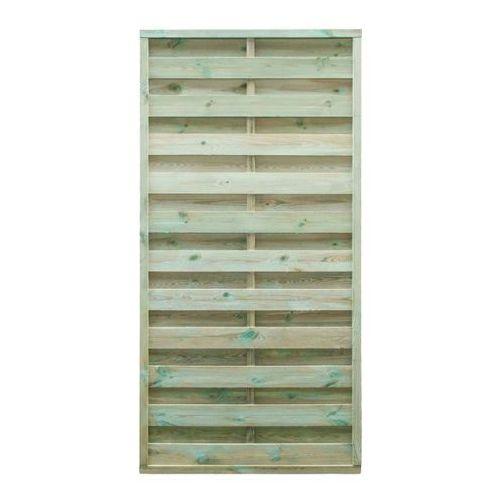 Płot panelowy prosty 25 mm 90 x 180 cm (3663602432609)