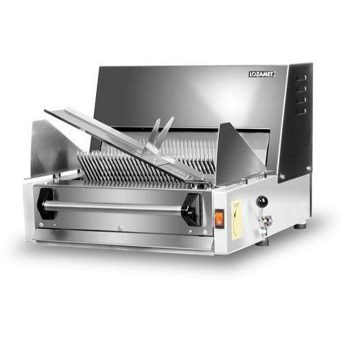 Krajalnica stołowa do pieczywa 14 mm, 150 bochenków/h, 230 V | LOZAMET, MKP.14.6