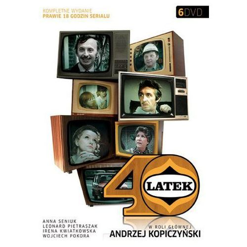 Czterdziestolatek (6dvd) - zakupy powyżej 60zł dostarczamy gratis, szczegóły w sklepie marki Galapagos films