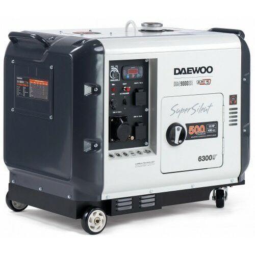 Agregat prądotwórczy ddae 9000sse 6,3kw diesel wyciszony marki Daewoo