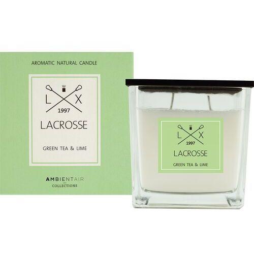 Lacrosse Świeca zapachowa green tea & lime 10x10 - green tea and lime