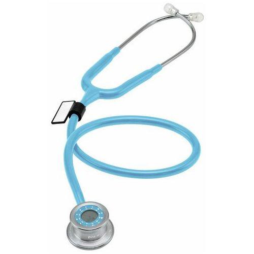Mdf Stetoskop  pulse time 740 z zegarem - błękitny