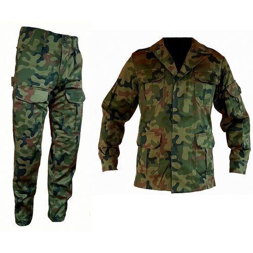 Mundur wojskowy WZ93 moro Spodnie + Bluza L, kolor zielony