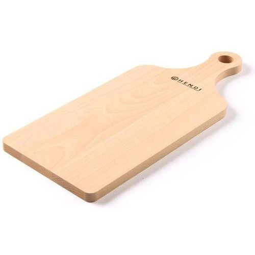 Hendi Drewniana deska do krojenia z uchwytem | 390x160mm - kod Product ID