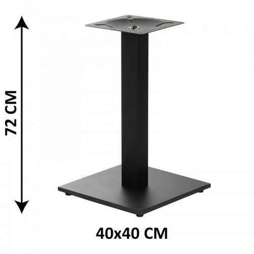 Podstawa stolika SH-2011-1/60/B, 40x40 cm (stelaż stolika), kolor czarny, SH-2011-1/60/B