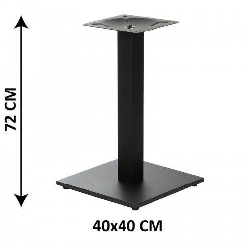 Stema - sh Podstawa stolika sh-2011-1/60/b, 40x40 cm (stelaż stolika), kolor czarny (5903917402897)