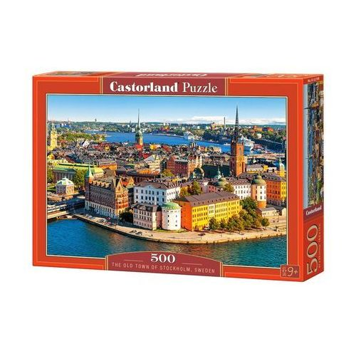 Castor Puzzle 500 el.: the old town of stockholm, sweden - od 24,99zł darmowa dostawa kiosk ruchu (5904438052790)