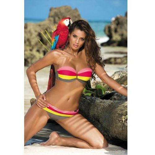 Kostium Kąpielowy Model Taylor Fango-Vanity Psycho Red-Tweety M-350 Grey/Pink