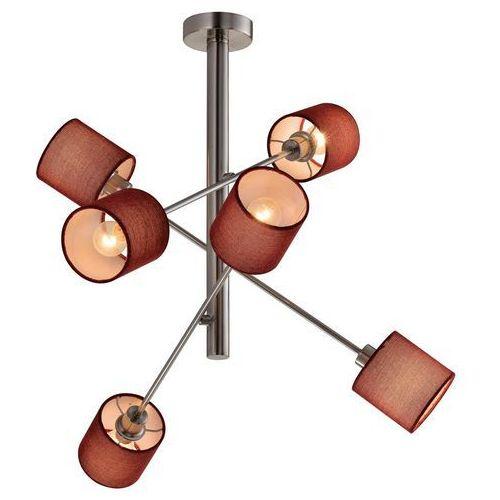 Candellux Sax 36-70715 plafon lampa sufitowa 6x40W E14 satyna (5906714870715)