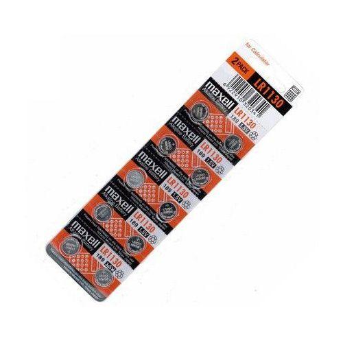 10 x bateria alkaliczna mini g10 / lr1130 / 189 marki Maxell