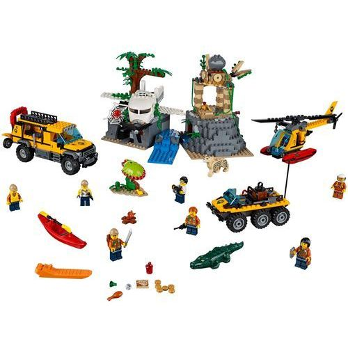 Lego CITY Baza w dżungli jungle exploration site 60161