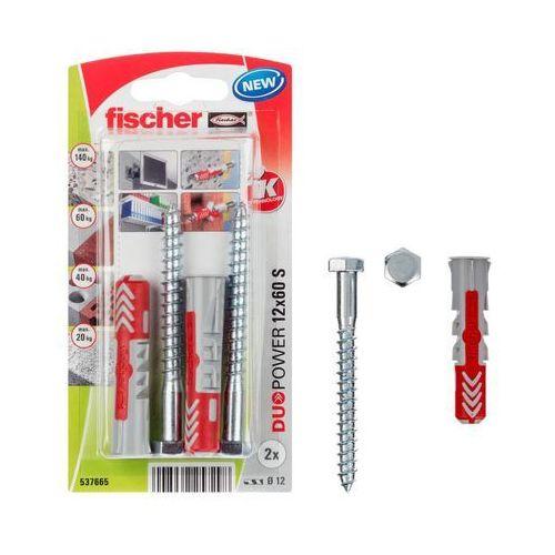 Kołek uniwersalny Fischer Duopower 12 x 60 z wkrętem 2 szt. (4048962257298)