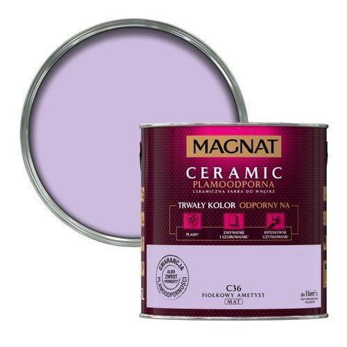 Śnieżka Farba magnat ceramic fiołkowy ametyst 2,5 l (5903973109099)