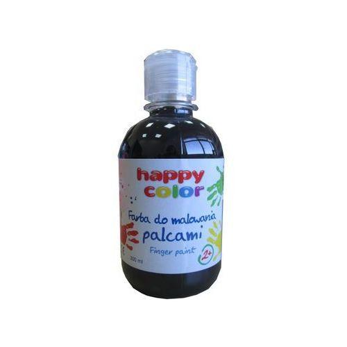 Farba do malowania palcami 300ml czarna marki Happy color