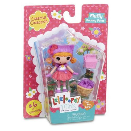 Mini Lalaloopsy, Cheerful Collection, Fluffy Pouncy Paws, lalka ()