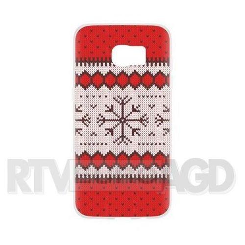 Etui FLAVR Case Ugly Xmas Sweater do Samsung Galaxy S7 Edge Czerwony (27391), 27389