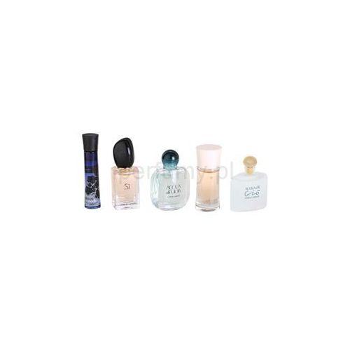Armani Mini zestaw upominkowy III. Code + Si + Acqua Di Gioa + Mania + Acqua Di Gio + do każdego zamówienia upominek. z kategorii Zestawy zapachowe dla kobiet