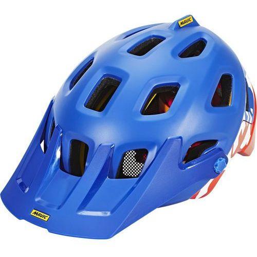 crossmax pro kask rowerowy pomarańczowy/niebieski 51-56 cm 2018 kaski mtb marki Mavic