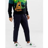 Tiger of Sweden Jeans regular fit casual trousers in navy - Black, kolor czarny