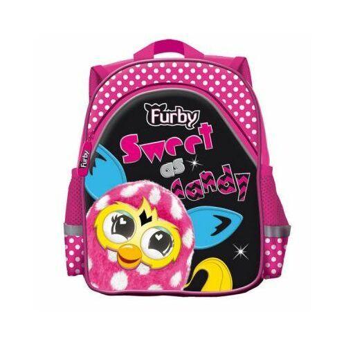 Plecak Wycieczkowy Furby różowy St.Majewski, kolor różowy